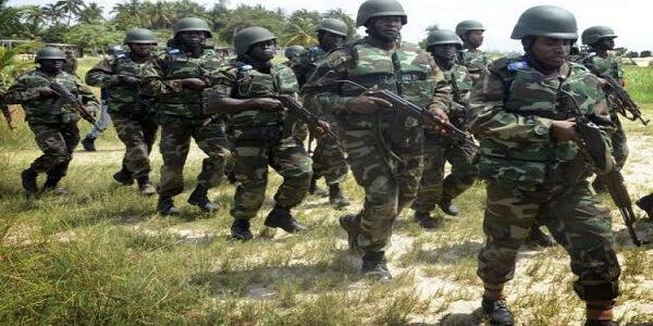 nigerian army basic recruit