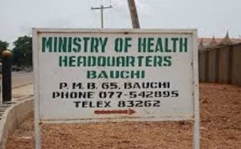 Bauchi State Ministry of Health Recruitment